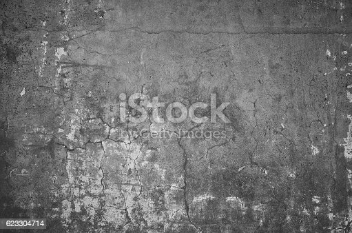 1061630554 istock photo gray grunge old wall texture, concrete cement background 623304714
