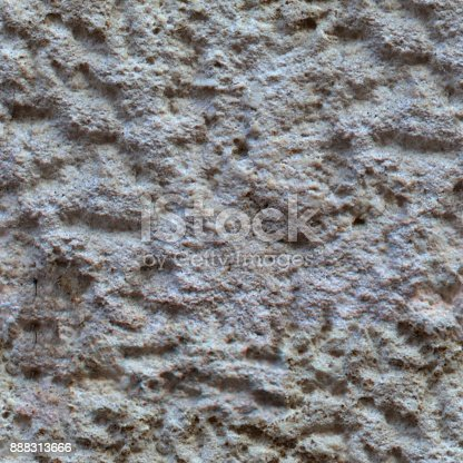 istock Gray grunge wall background or seamless texture. 888313666