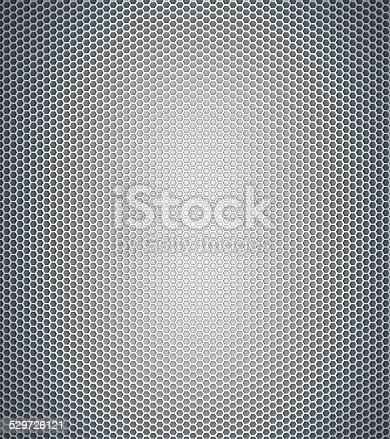 690198240istockphoto Gray honeycomb 529726121