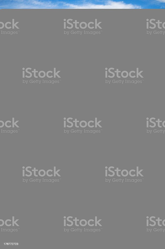 Gray image with blue line on the top royalty-free stock photo