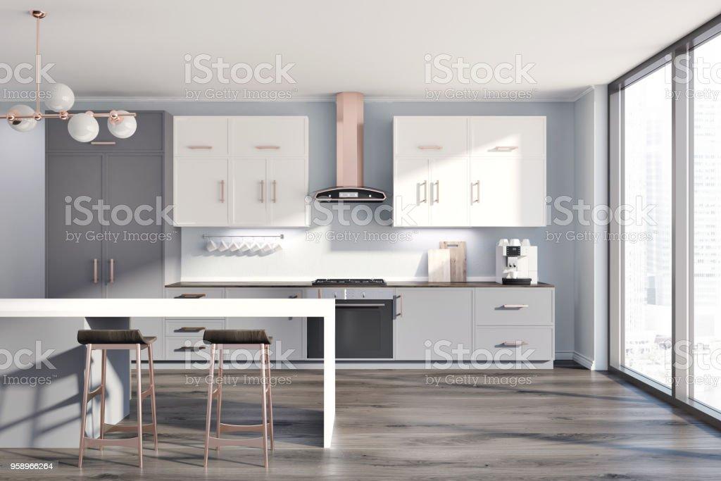 Graue Innenausstattung Küchentisch Stockfoto und mehr Bilder von ...