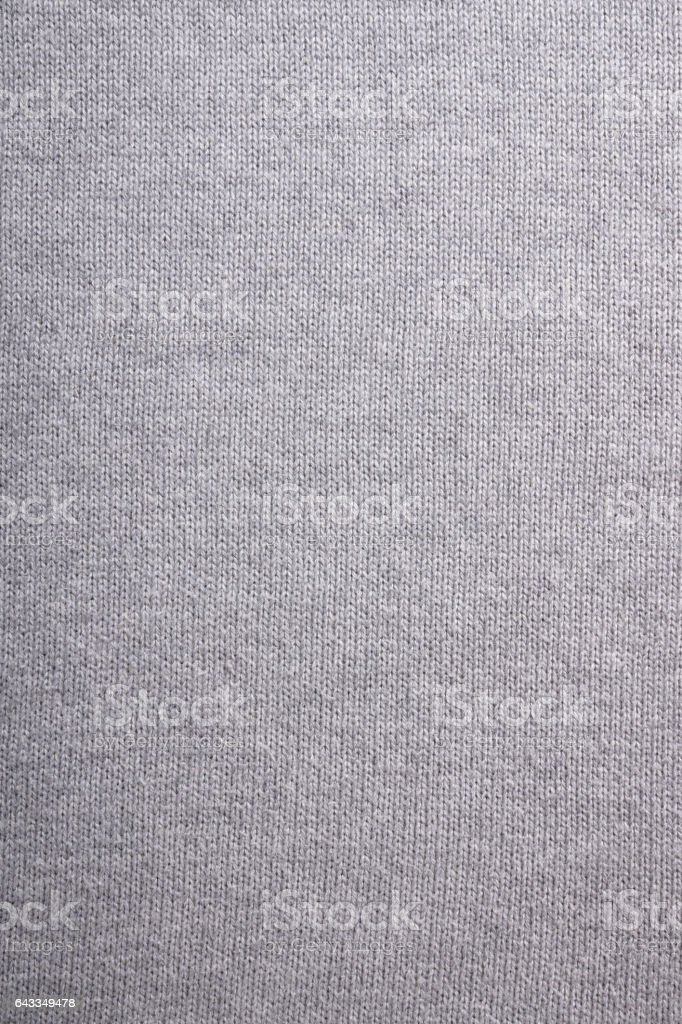 gray knitted background – Foto