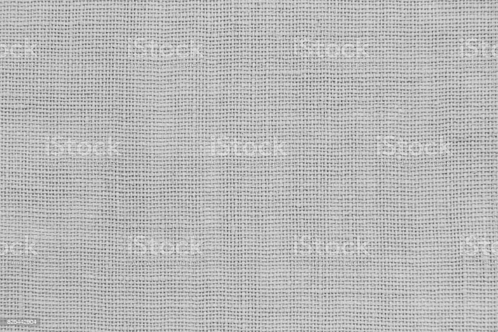 Gray light sackcloth texture or background for your design stock photo