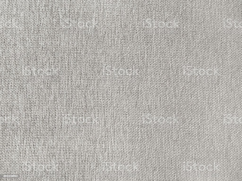 Gray Linen Sofa Fabric Textured Royalty Free Stock Photo