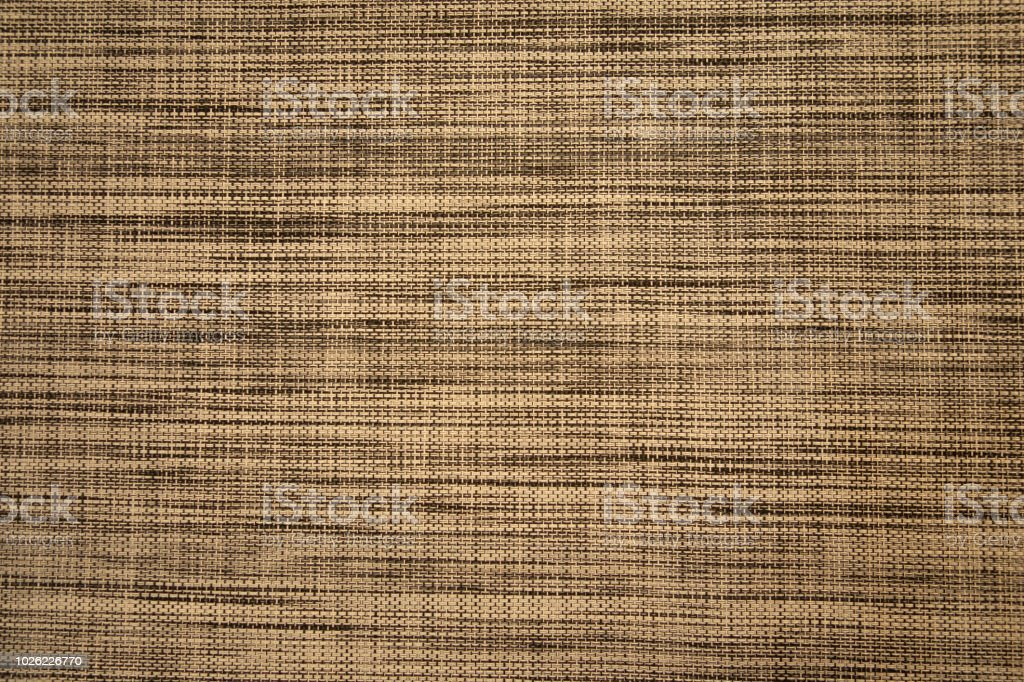 Gray linen textile seamless natural background. Fabric with smooth...
