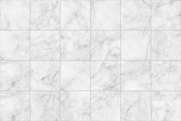gray marble tiles seamless floor texture for design. - tile stock photos and pictures