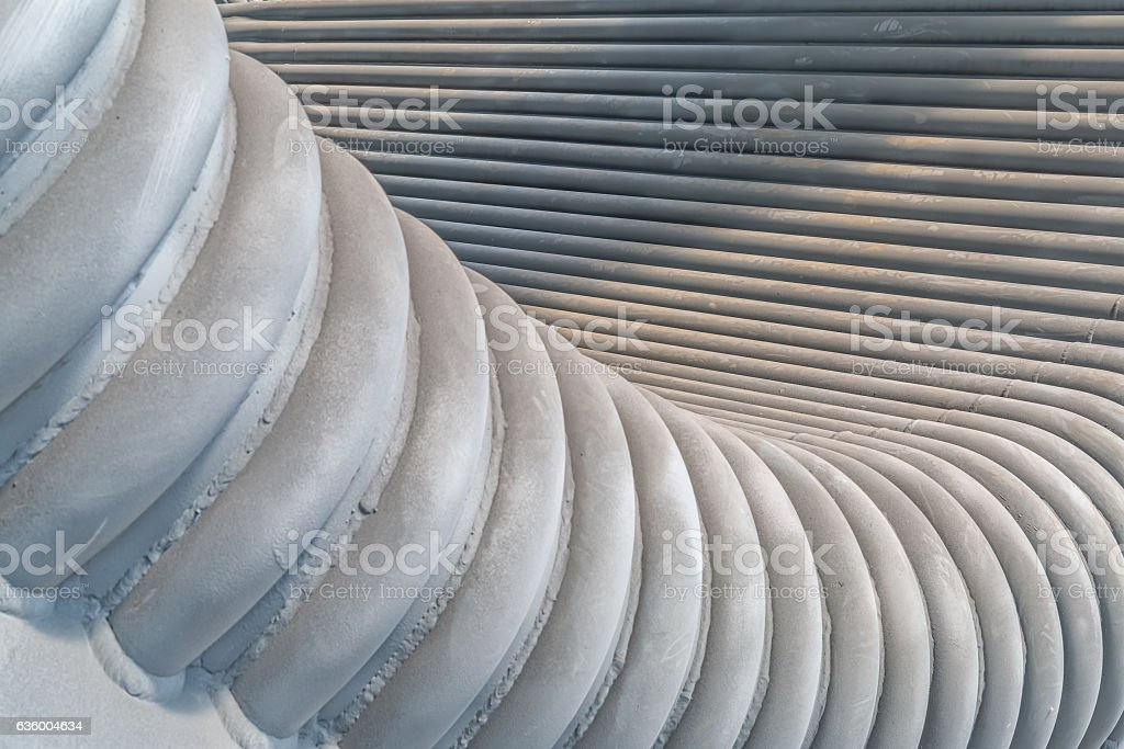 Gray metal background stock photo