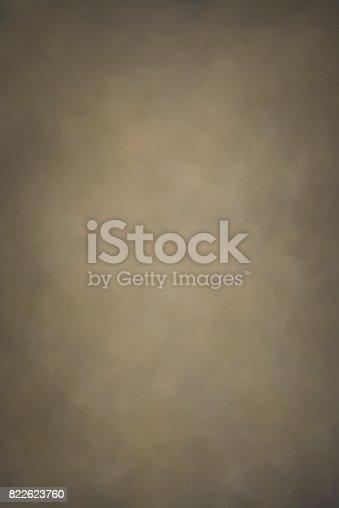 istock Gray ocher hand painted backdrop 822623760