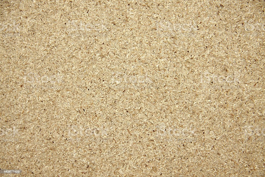 gray plywood sawdust stock photo