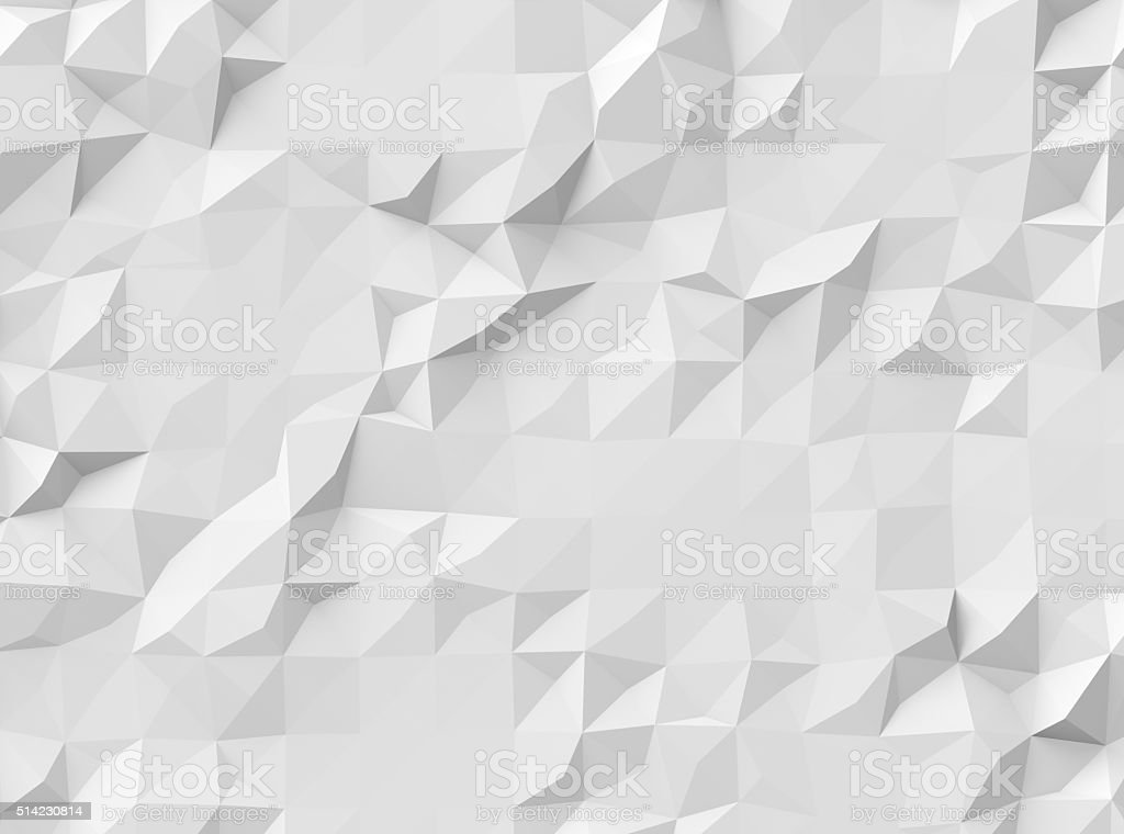 polygonal fond gris - Photo