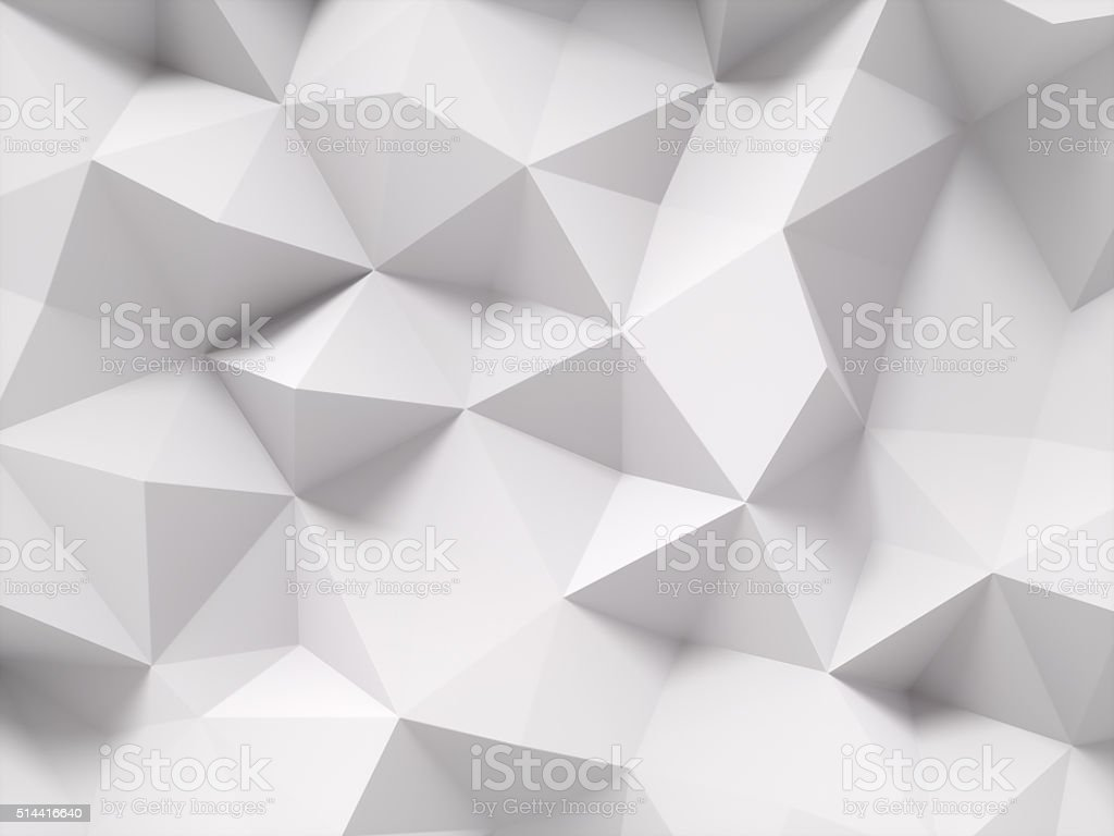 Gray polygonal background​​​ foto