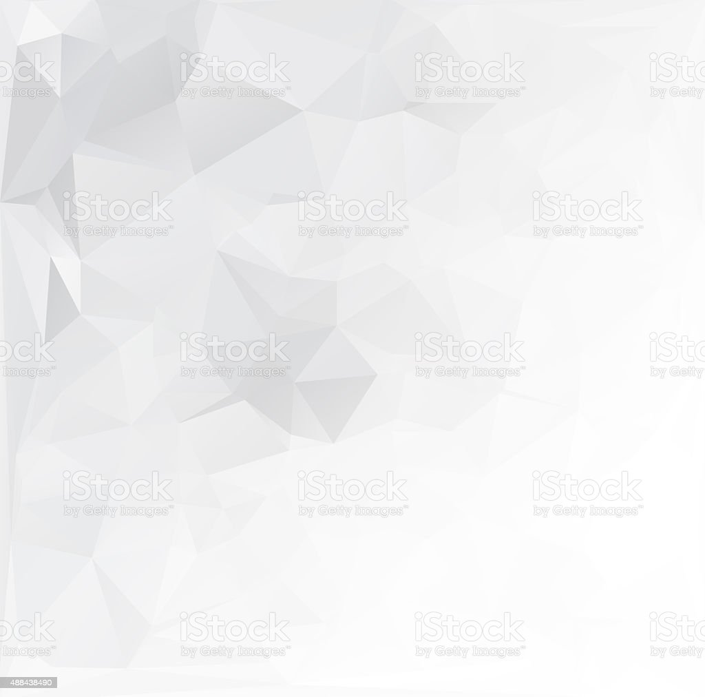 Gray Polygonal Mosaic Background, Creative Design Templates stock photo