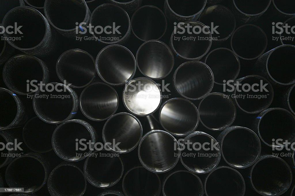 gray pvc pipes – Foto