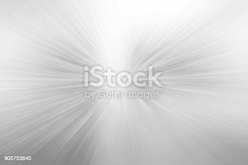 istock Gray rays background 905753640
