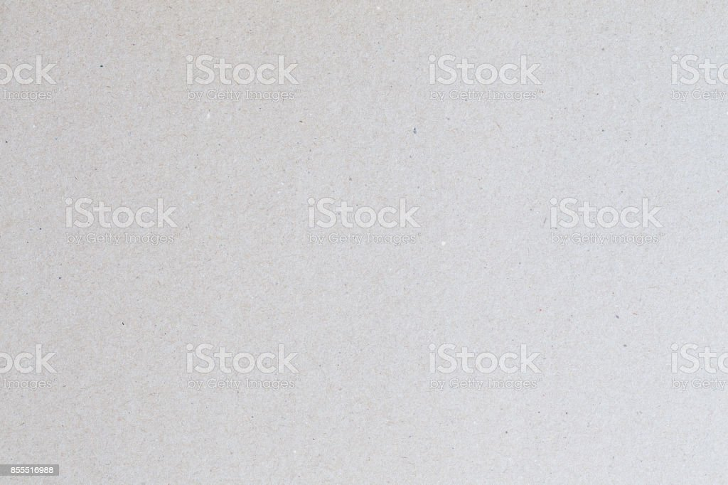 Gray recycled paper texture for background,Cardboard sheet of paper for design stock photo