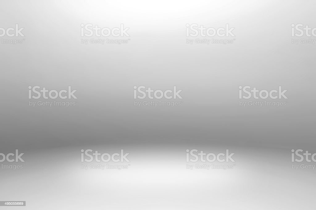 Gray room abstract background stock photo
