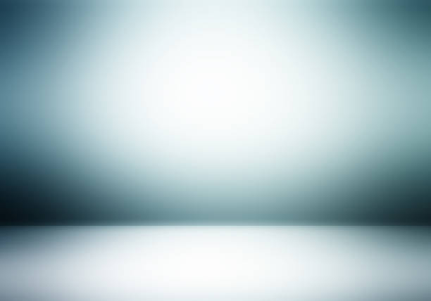 Gray room abstract gradient background stock photo