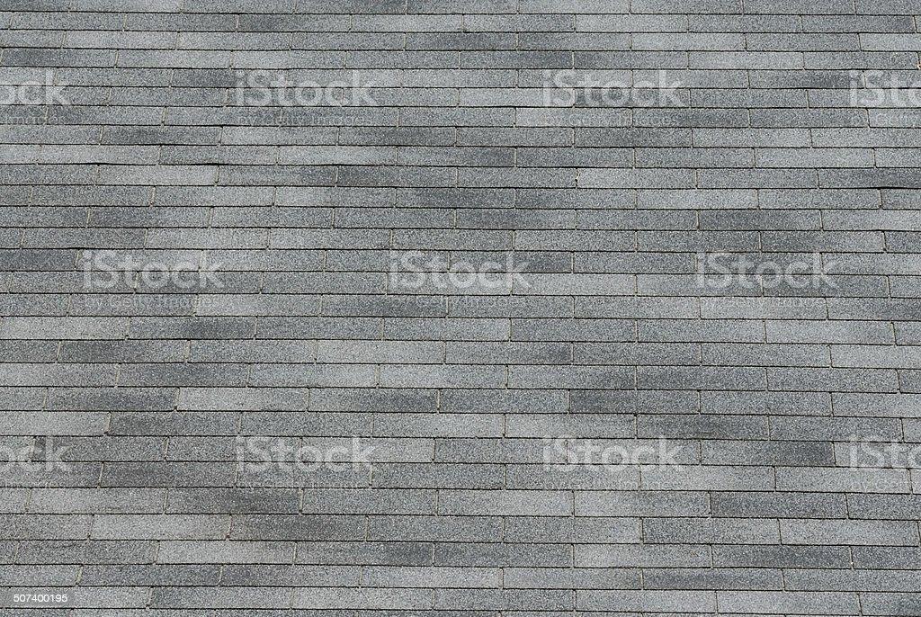 Gray shingle background texture stock photo