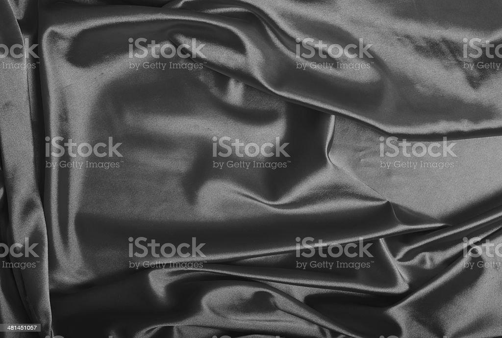 Gray silk background royalty-free stock photo