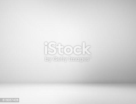 istock Gray spotlight background 515057428
