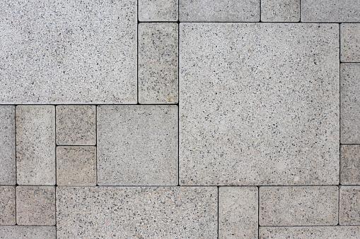 Gray square bricks