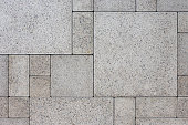 Gray square bricks