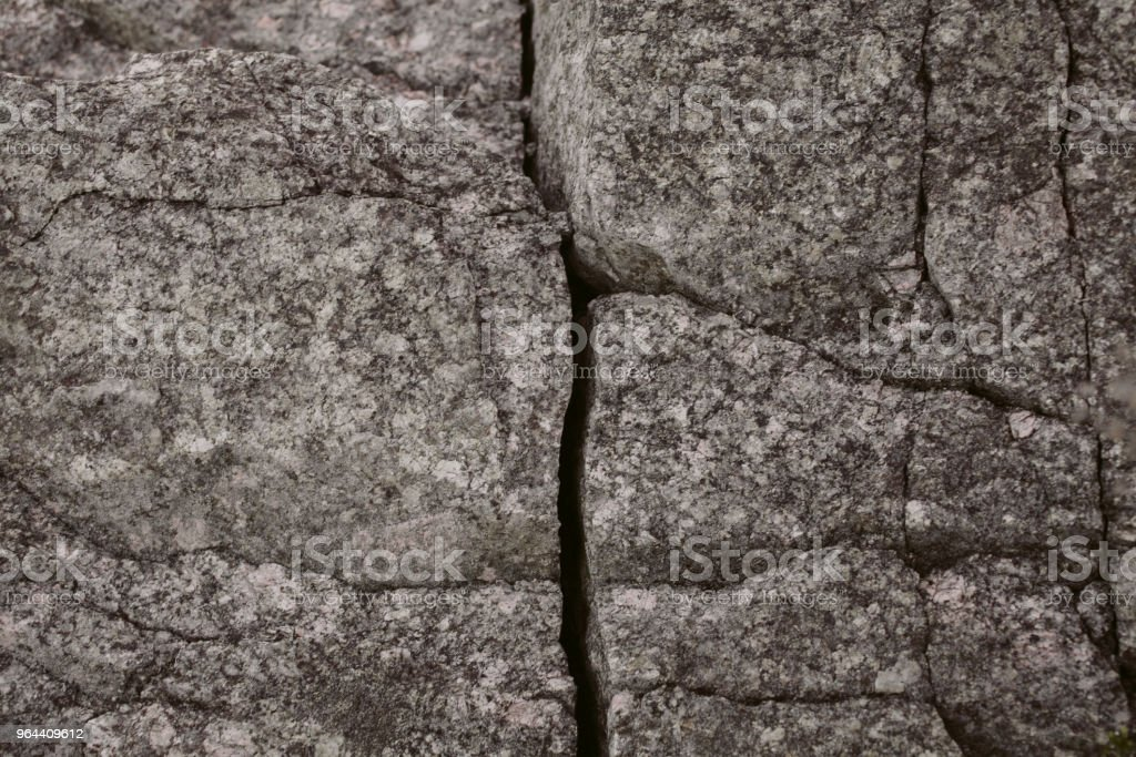 Gray stone texture and background. Close up view of natural rock wall texture. Abstract texture and background for design. Natural stone surface. - Royalty-free Architecture Stock Photo