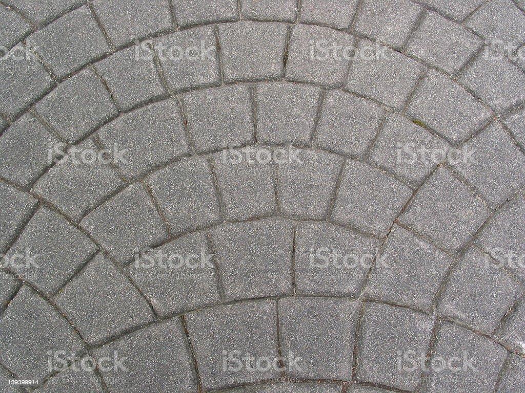 Gray Stone Walk royalty-free stock photo