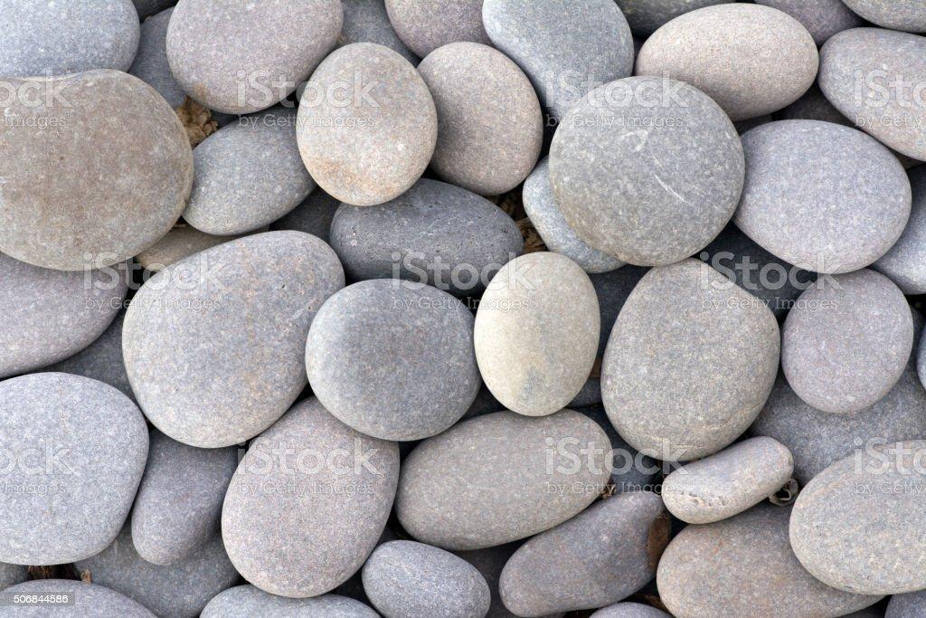 Gray Stones stock photo