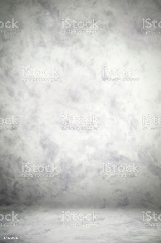 Gray Studio Backdrop stock photo