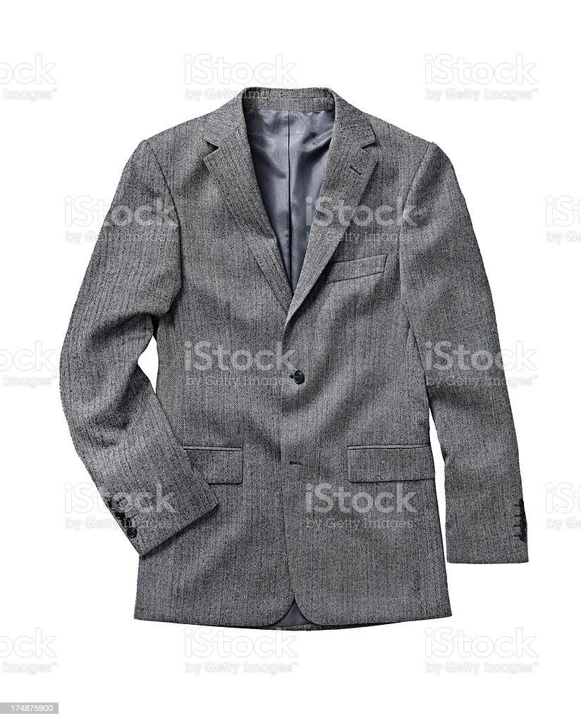 gray suit stock photo