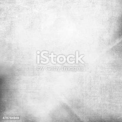 istock Gray texture canvas background 475764949