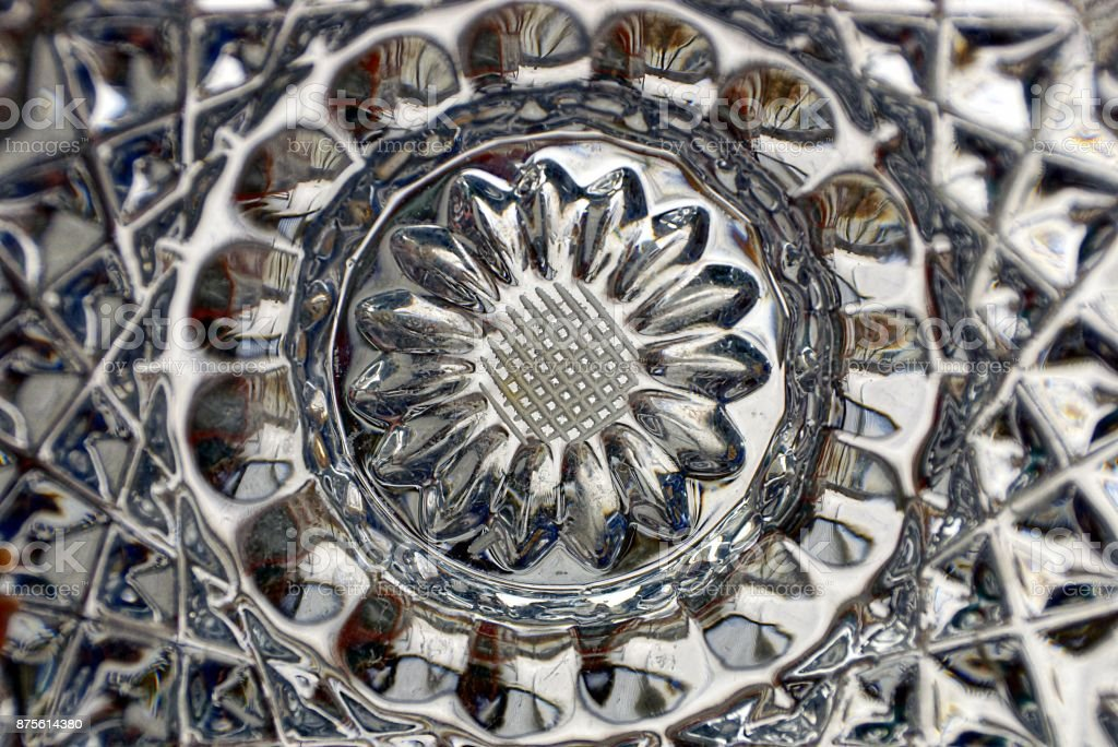 gray texture of glass with a pattern stock photo