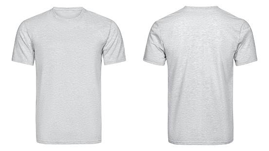 Gray t-shirt, clothes