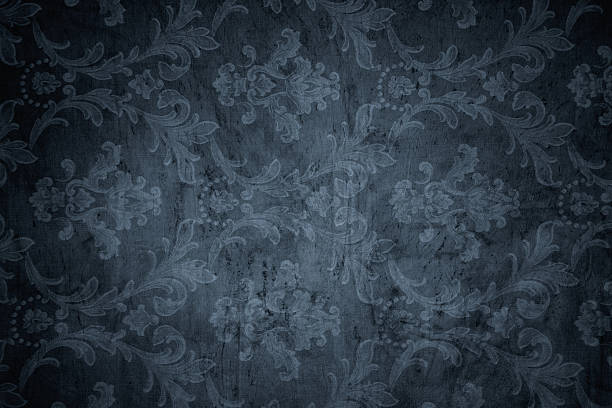 gray victorian background - baroque stock photos and pictures