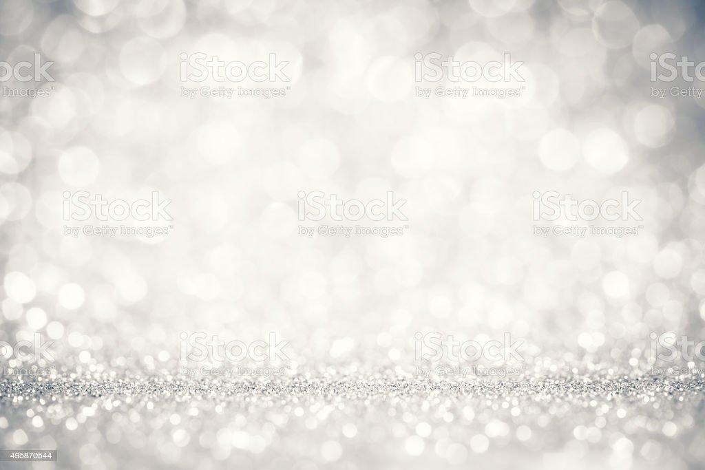 Gray vintage brillante Fondo abstracto con luces Desenfocado - foto de stock