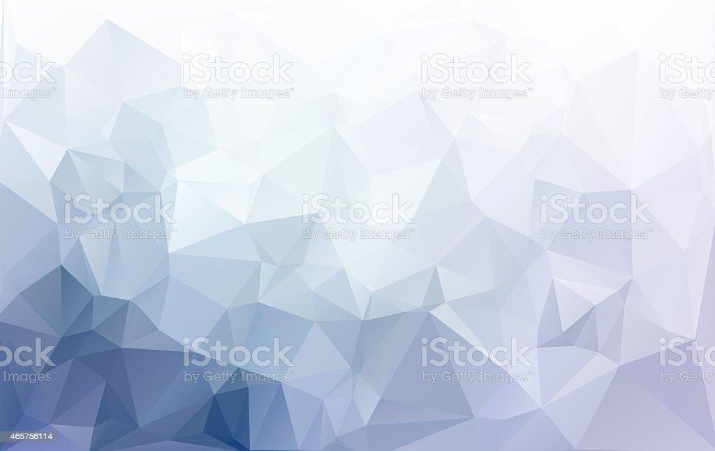 Gray White Light Polygonal Mosaic Background, Creative  Business Design Templates stock photo