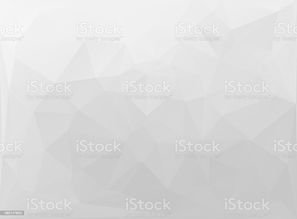 Gray White  Polygonal Mosaic Background,  Creative  Business Design Templates stock photo