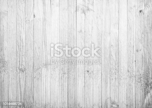Gray wood plank texture background
