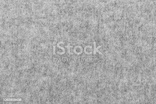 istock Gray Wool Felt Background Texture 1065909438