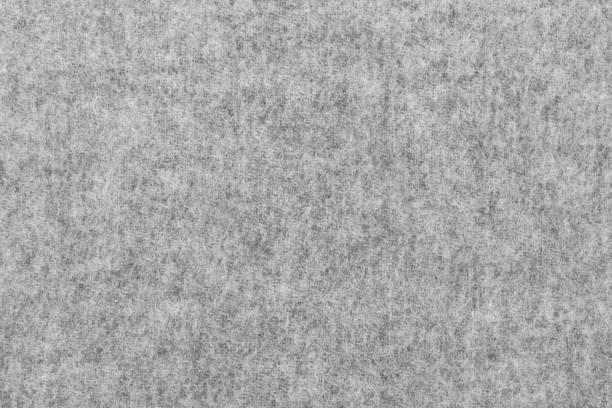 gray wool felt background texture - wool stock photos and pictures
