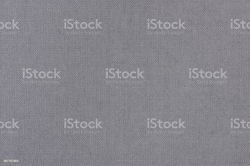Gray woven fabric texture background stock photo