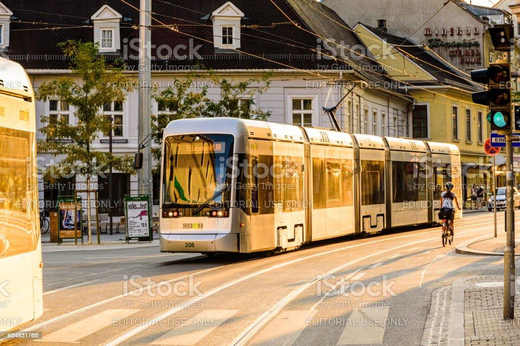 그라츠 도시 스티리아 오스트리아 - 로열티 프리 거리 스톡 사진
