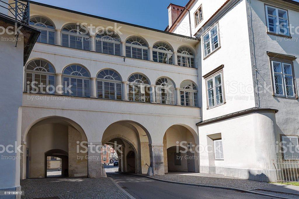 Graz old town gate, Austria stock photo