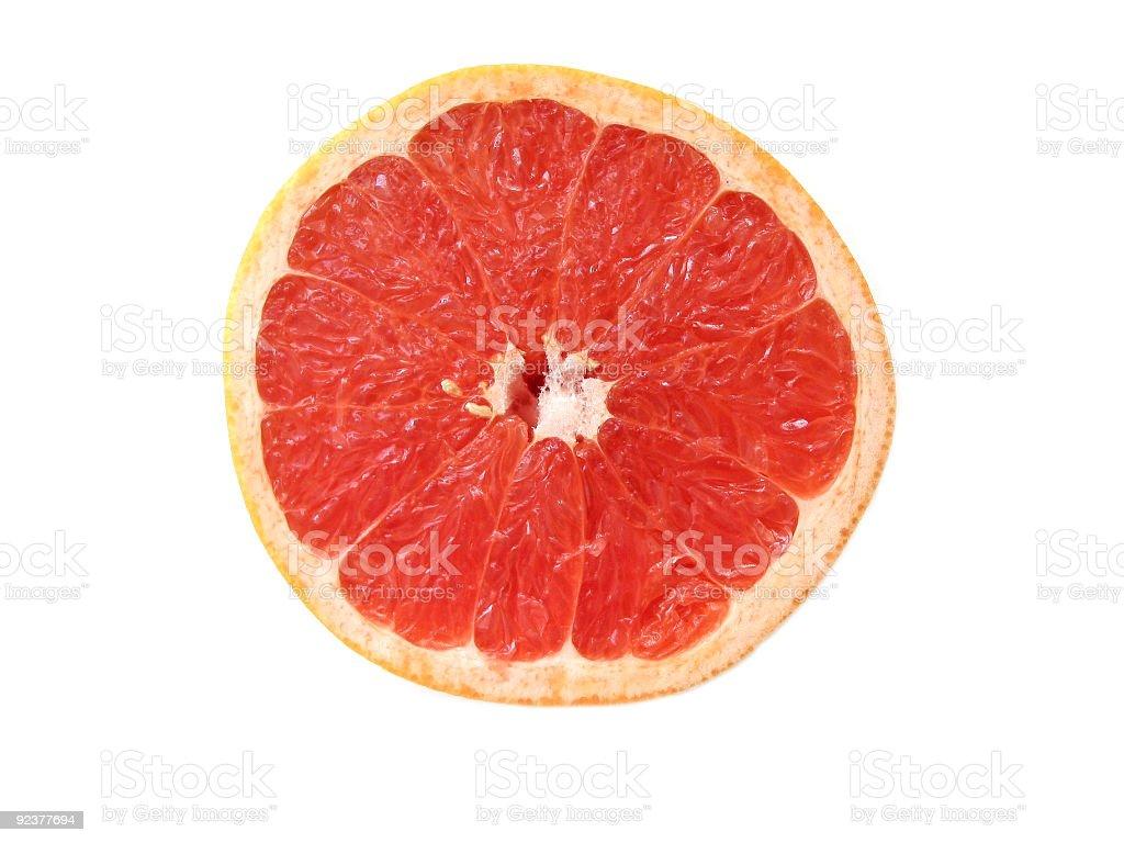 Greapefruit half royalty-free stock photo