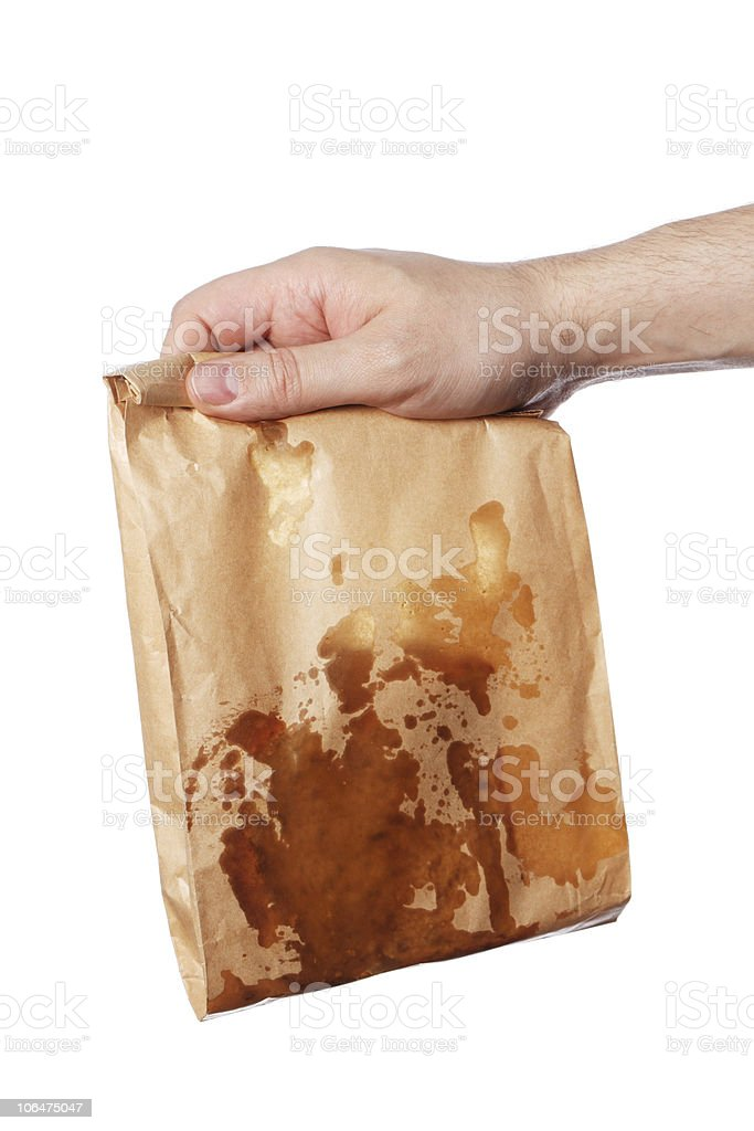 Greasy royalty-free stock photo