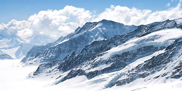 Great Aletschgletscher Jungfrau der Schweiz – Foto