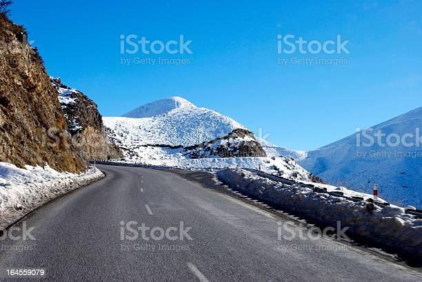 Photo of Great Alpine Highway Snowscene, New Zealand