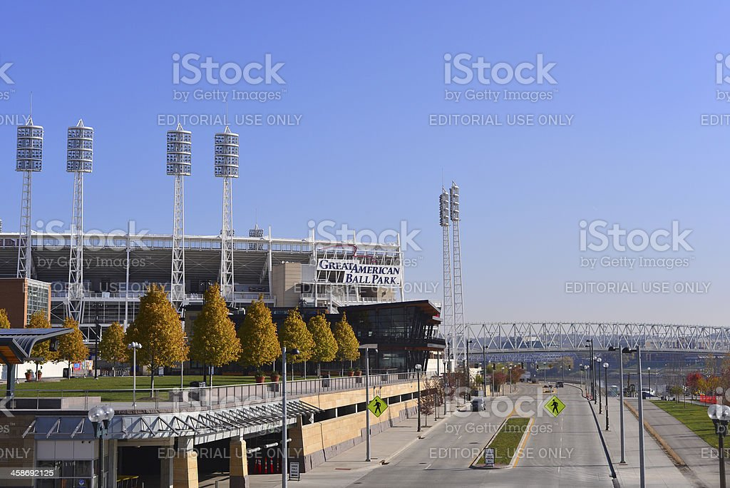 Great American Ball Park, Cincinnati, Ohio royalty-free stock photo