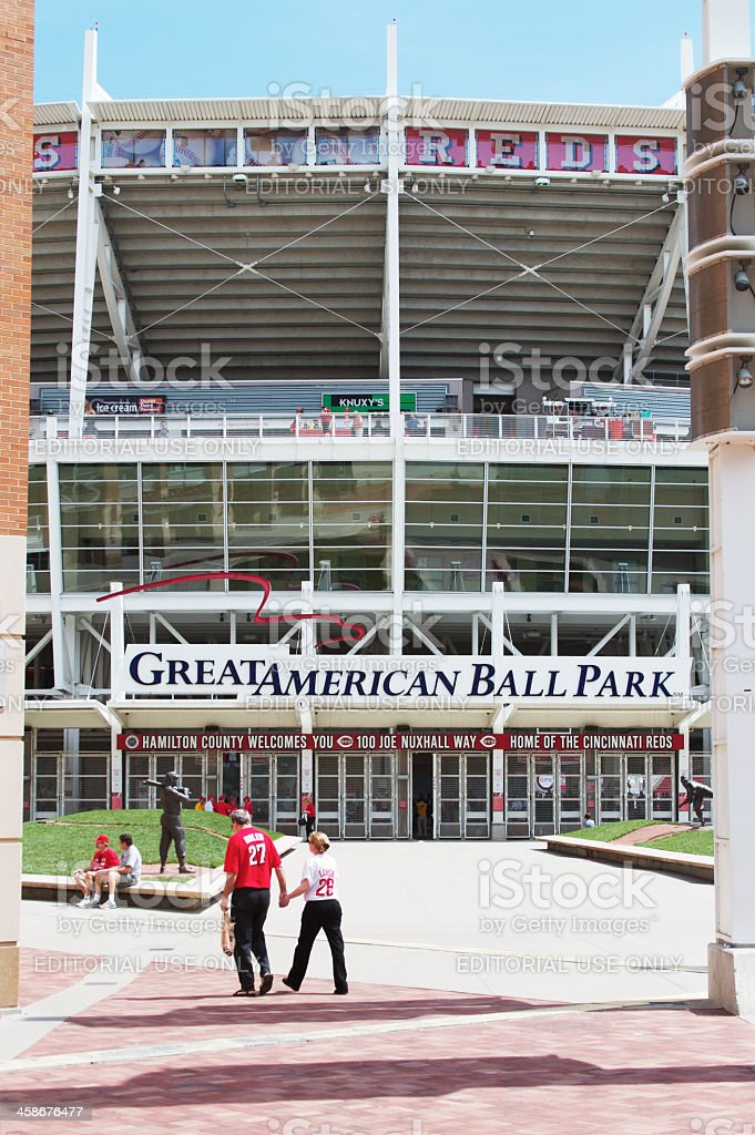Great American Ball Park royalty-free stock photo